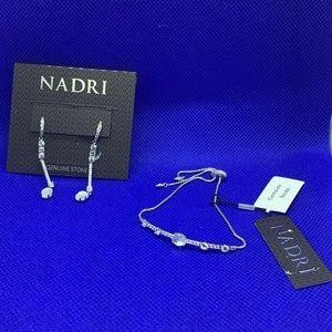 NWT Bundle Nadri earing /bracelet